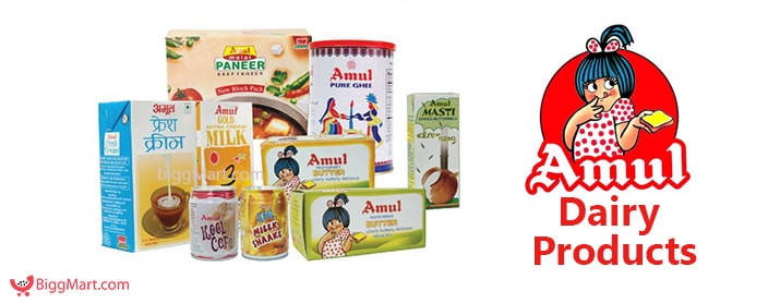 Amul dairy Products