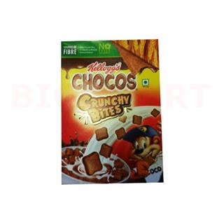 Kelloggs Chocos Crunchy Bites Smacks Chocolaty Blocks (390 gm)