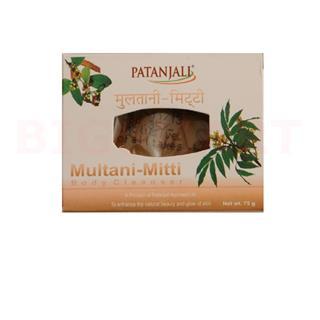 Patanjali Multani Mitti Body Cleanser (75 gm)