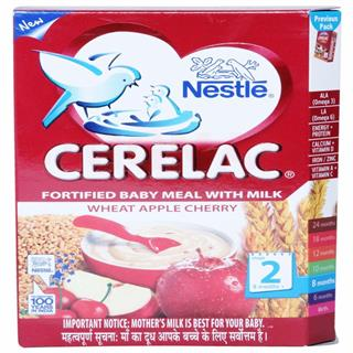 Nestle Cerelac Wheat Apple (Stage 2) (300 gm)
