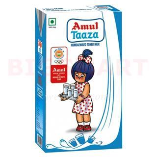 Amul Taaza Uht Milk (200 ml)