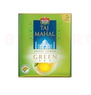 Taj Mahal Honey Lemon Green Tea Bag 25S (25 gm Pouch)