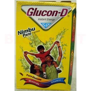 Glucon D Pure Glucose Nimbu Pani Flavor (100 gm)