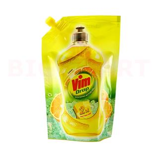 Vim Dishwash Liquid Yellow (225 ml)