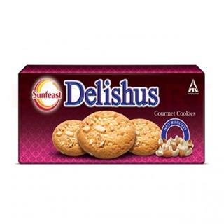 Sunfeast Delishus Gourment Cookies Nuts (75 gm)
