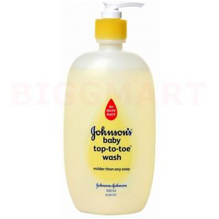 Johnson & Johnson Top To Toe Wash (100 ml)