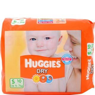 Huggies Dry Small (Upto 7 Kg) (10 no.)