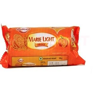 Sunfeast Marie Light Orange (120 gm)