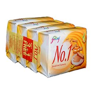 Godrej No 1 Soap (Sandal And Turmeric) (400 gm)
