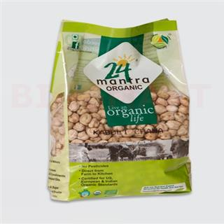 24 Mantra Organic Kabuli Channa (500 gm)
