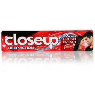 Close Up Tooth Paste Deep Action (Red Hot) (150 gm)