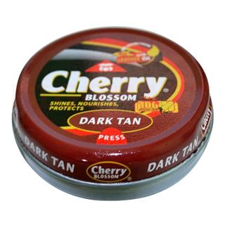 Cherry Blossom Shoe Polish Dark Tan (40 gm)