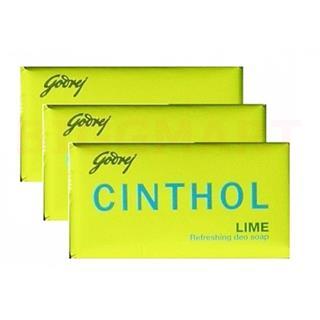 Godrej Cinthol Lime Set (3*125gm) (1 Set)