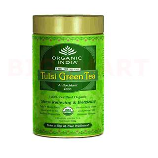 Organic India Tulsi Green Tea (100 gm)