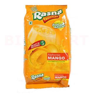 Rasna Fruit Plus Mango Powder (500 gm Pouch)