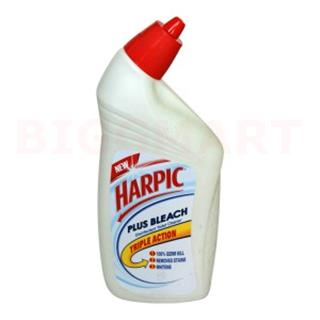 Harpic Plus Bleach Disinfectant Toilet Cleaner (500 ml)