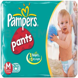 Pampers Pants M (60 pcs)