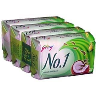 Godrej No 1 Coconut & Neem (4*65gm gm)