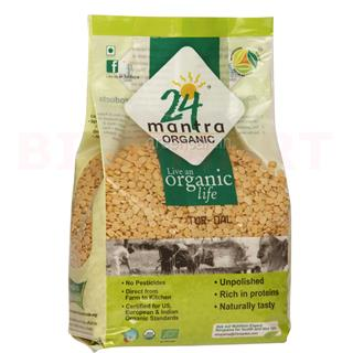 24 Mantra Organic Dal Tur (1 kg)