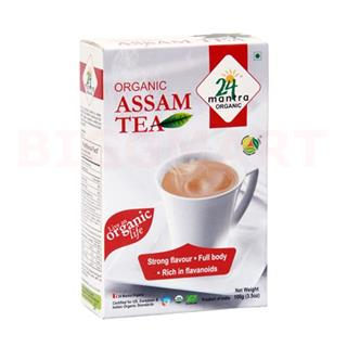 24 Mantra Organic Assam Tea (100 gm)