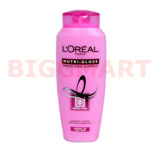 Loreal Paris Shampoo Nutri Gloss Mirror Shine (175 ml)