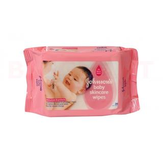 Johnsons Baby Skincare Wipes (20 pcs)