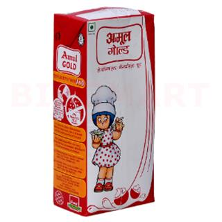 Amul Gold Homogenized Standardized Milk (1 ltr)