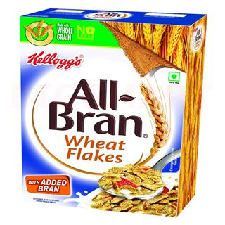 Kelloggs All Bran Wheat Flakes (425 gm)