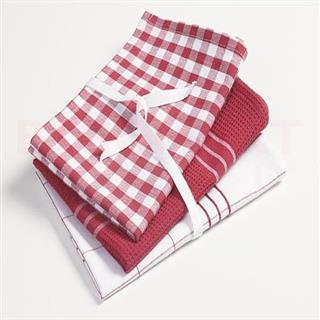 Kitchen Towel Set (3 Pcs) 38cm*58cm (1 Set)