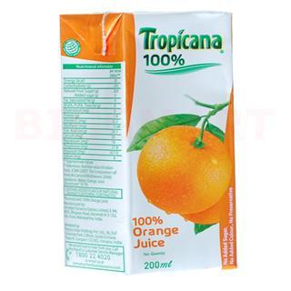 Tropicana Juice Orange (200 ml)