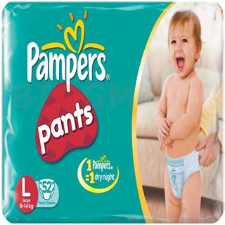 Pampers Pants L (52 pcs)