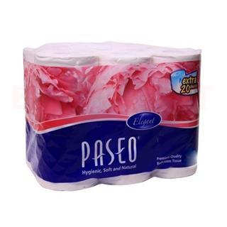 Paseo Toilet Tissue Rolls (6 pcs)