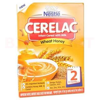 Nestle Cerelac Wheat Honey (Stage 2) (300 gm)
