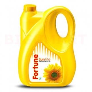 Fortune Sunlite Refined Sunflower Oil (5 ltr)