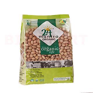 24 Mantra Organic Raw Peanut (500 gm)