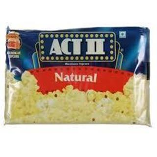 Act II Pop Corn Microwave Popcorn Natural (24 gm)