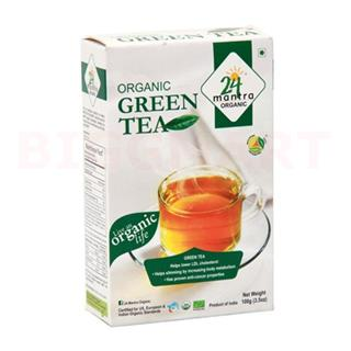 24 Mantra Organic Green Tea (100 gm)