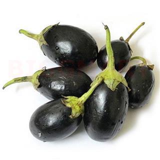 Brinjal Black Small (250 gm)