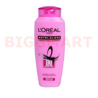 Loreal Paris Shampoo Nutri Gloss Mirror Shine (75 ml)