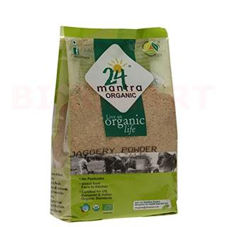 24 Mantra Organic Jaggery Powder (500 gm)