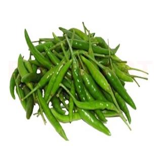 Green Chilli Medium (Grade 1) (100 gm)
