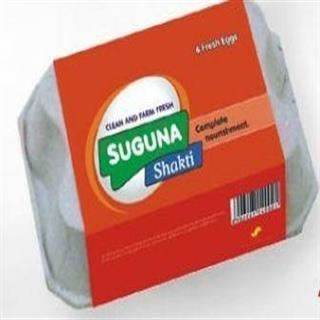 Suguna Nutri Fresh Chicken Eggs (6 pcs)
