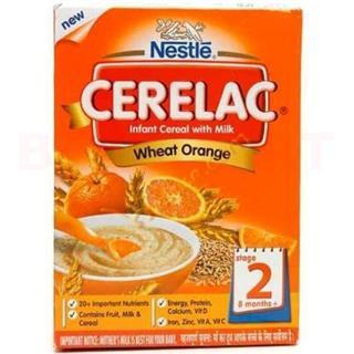 Nestle Cerelac Wheat Orange (Stage 2) (300 gm)