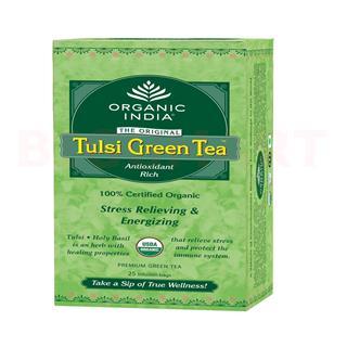 Organic India Tulsi Green Tea (50 gm)