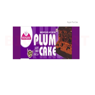 Monginis Regular Plum Cake (Chocolate) (100 gm)