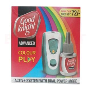 Good Knight Advanced Colour Play Refill + 1 Machine (1 mc + 45 ml pcs)