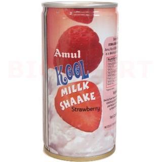 Amul Kool Milk Shake Strawberry (180 ml)