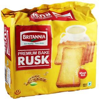 Britannia Premium Baked Sooji Toast Rusk (200 gm)