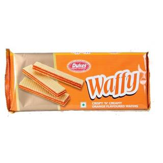Dukes Waffy Orange Flavoured Wafers (75 gm)