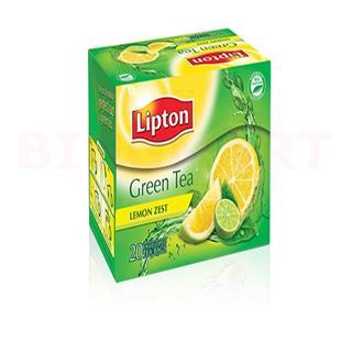 Lipton Green Tea Lemon Zest (10 pcs)